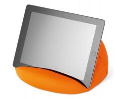 Stojánek na tablet EDMORE z mikrovlákna - oranžová