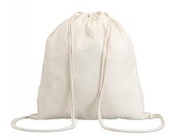 Bavlněná stahovací taška RANDI - béžová