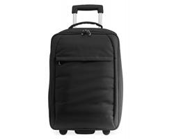 Cestovní taška LEDGY na kolečkách - černá