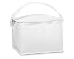 Chladící taška DAVIDA na 6 plechovek - bílá