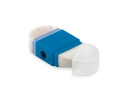 Plastové ořezávátko SPIV s gumou - modrá