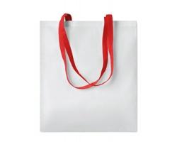 Nákupní taška LESSONS s dlouhými uchy - červená