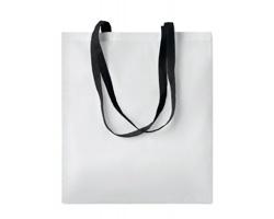 Nákupní taška LESSONS s dlouhými uchy - černá