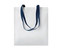Nákupní taška LESSONS s dlouhými uchy - modrá