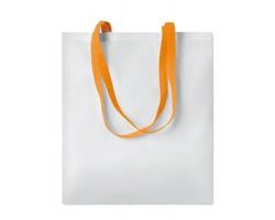 Nákupní taška LESSONS s dlouhými uchy - oranžová