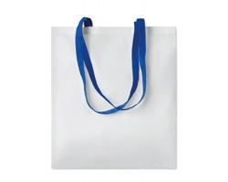 Nákupní taška LESSONS s dlouhými uchy - královská modrá