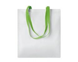 Nákupní taška LESSONS s dlouhými uchy - limetková