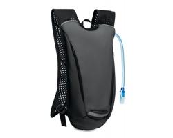 Sportovní batoh s vakem na vodu DILLS s pítkem, 2 l - šedá