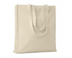 Bavlněná nákupní taška WOOF - béžová