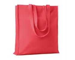 Bavlněná nákupní taška LEMMA s dlouhými uchy - červená