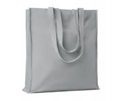 Bavlněná nákupní taška LEMMA s dlouhými uchy - šedá