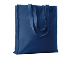 Bavlněná nákupní taška LEMMA s dlouhými uchy - modrá