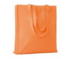 Bavlněná nákupní taška LEMMA s dlouhými uchy - oranžová