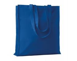 Bavlněná nákupní taška LEMMA s dlouhými uchy - královská modrá