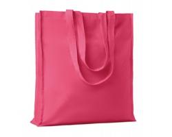 Bavlněná nákupní taška LEMMA s dlouhými uchy - fuchsie