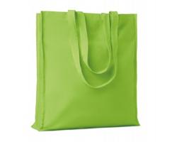 Bavlněná nákupní taška LEMMA s dlouhými uchy - limetková