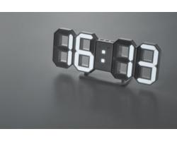 Digitální nástěnné LED hodiny MEIN - bílá