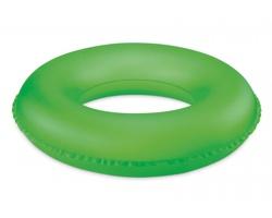 Dětský nafukovací kruh DOWDY, nosnost 50 kg - neonová zelená