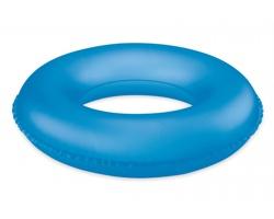 Dětský nafukovací kruh DOWDY, nosnost 50 kg - transparentní modrá