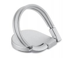 Nalepovací držák telefonu LEHRS - stříbrná
