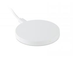 Plastová bezdrátová nabíječka STOLE - bílá