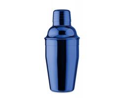 Nerezový koktejlový shaker BLEBS s lesklým povrchem, 300 ml - modrá
