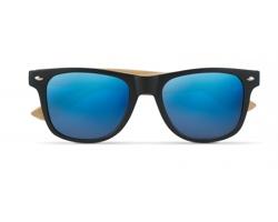 Sluneční brýle PILOT s barevnými zrcadlovými skly - modrá