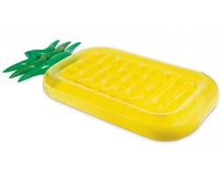 Nafukovací matrace PINEAPPLE ve tvaru ananasu - žlutá