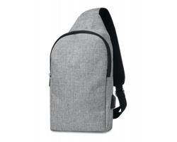 """Polyesterový batoh pro 10"""" notebook PROF na jedno rameno - šedá"""