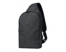"""Polyesterový batoh pro 10"""" notebook PROF na jedno rameno - černá"""