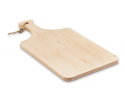 Olšové prkénko LOVEY s rukojetí - hnědá (dřevo)