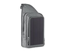 Solární batoh GERAH s USB portem - černá