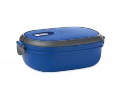 Plastová vzduchotěsná krabička na oběd BYERS, 1000 ml - královská modrá