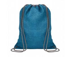 Šňůrkový batoh HUMIN - modrá