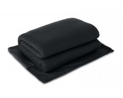 Fleecová cestovní deka RHEME - černá