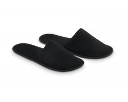 Hotelové pantofle OPACA ve stahovacím sáčku - černá