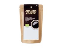 Mletá bio káva Arabica QUOS, hmotnost 75 g - béžová