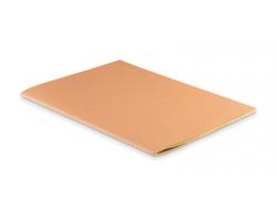 Nelinkovaný zápisník FLAT s kartonovým přebalem, A4 - béžová