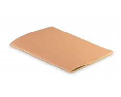 Nelinkovaný zápisník BABES s kartonovým přebalem, A5 - béžová