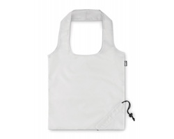 Skládací taška JINKS z recyklovaného PET - bílá