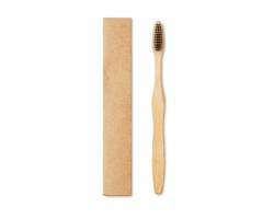 Bambusový zubní kartáček BRUSH - černá