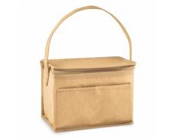 Papírová chladicí taška na 6 plechovek ONERE - béžová