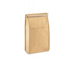 Chladicí obědový sáček FLIT ze tkaného papíru, 2,3 l - béžová