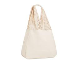 Bavlněná plážová taška PART - béžová