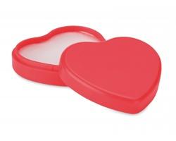 Přírodní balzám na rty MEKON ve tvaru srdce - červená