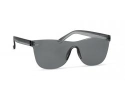 Plastové bezobroučkové sluneční brýle BLUSHFUL - transparentní šedá