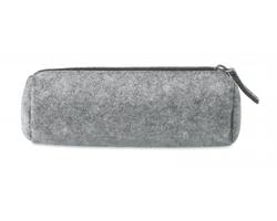 Plstěný penál USUAL se zipem - šedá