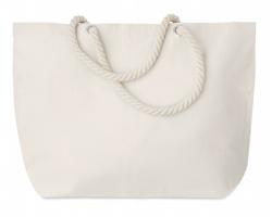 Plážová taška MEOWS s krouceným držadlem - béžová