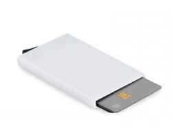 Plastový držák platebních karet AETAS - bílá