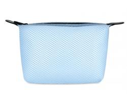 Toaletní taštička CRIED - transparentní modrá